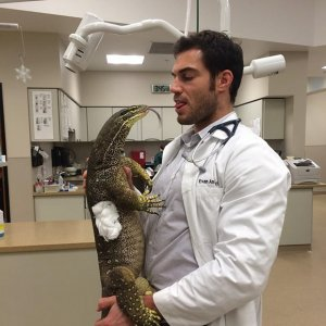 Instagram'ın en sevilen veterineri Evan Antin