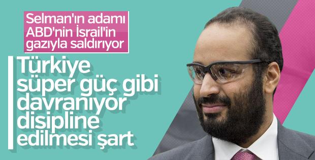 Suudilerden küstah sözler: Türkiye'yi disipline etmeliyiz