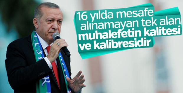 Erdoğan'dan muhalefete sert tepki
