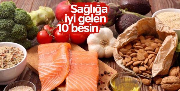 Sağlığa iyi gelen 10 besin