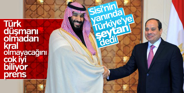 Veliaht Salman'dan Türkiye hakkında küstah açıklama