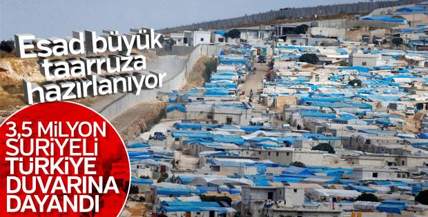 Suriye İdlib savaşına hazırlanıyor