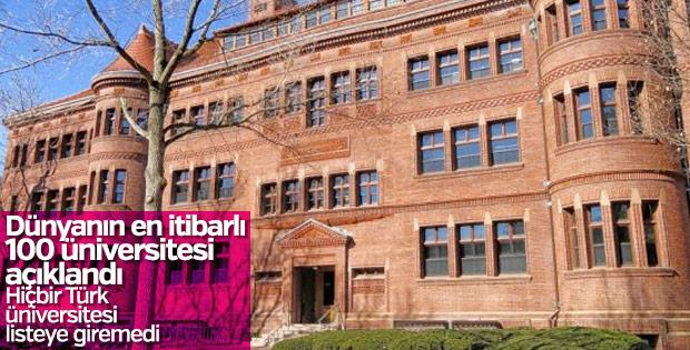 Dünyanın en itibarlı üniversiteleri açıklandı
