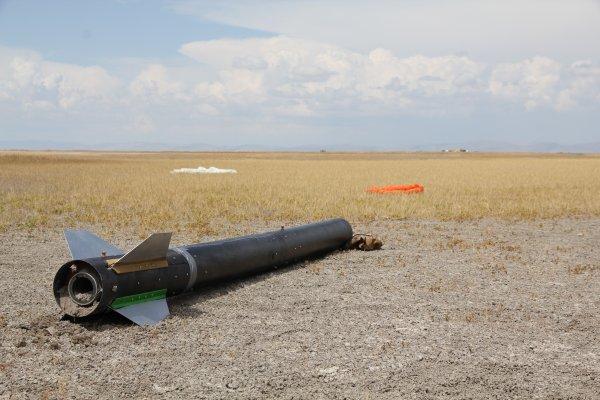 Hibrit roketi ABD'de Türkiye'yi temsil edecek