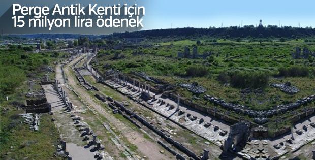 Perge Antik Kenti yeniden canlanacak