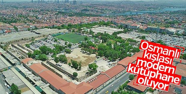 Rami Kışlası'na Türkiye'nin en büyük kütüphanesi kurulacak