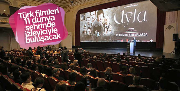 Türk filmleri dünyayı dolaşacak