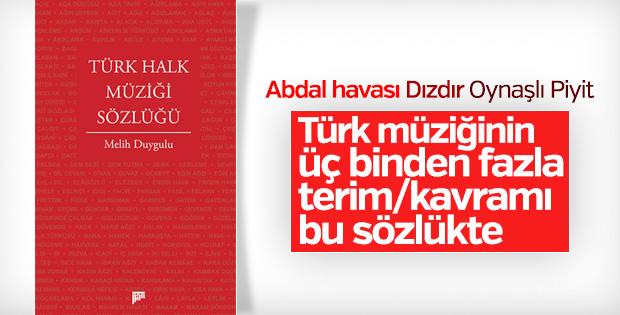 Melih Duygulu'dan Türk Halk Müziği Sözlüğü