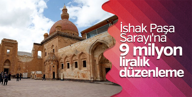 İshak Paşa Sarayı'na çevre düzenlemesi yapılacak