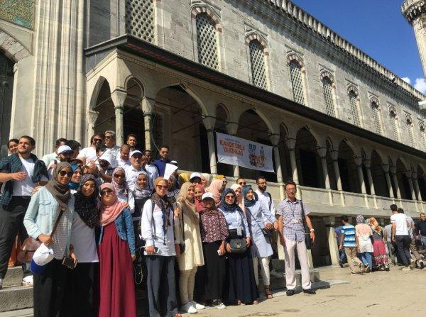 İBB 7 ayda 110 ülkeden 5 bin yabancı misafir ağırladı