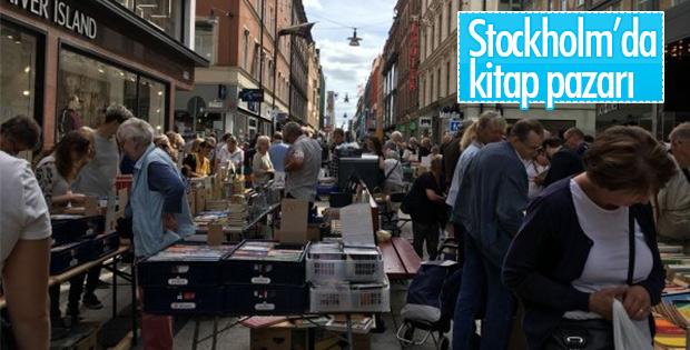 3 kilometrelik kitap pazarı