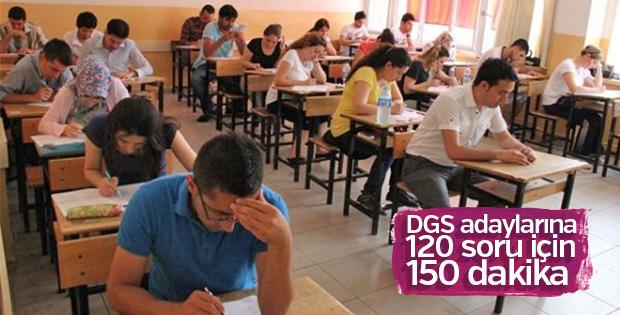 ÖSYM, DGS adaylarına 10 dakika daha süre verecek