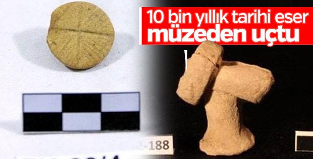 Şanlıurfa'da 10 bin yıllık taş damga ve mühür kayboldu