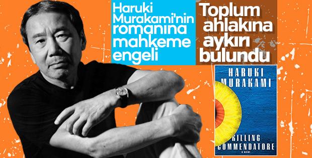 Haruki Murakami'nin romanına fuar yasağı