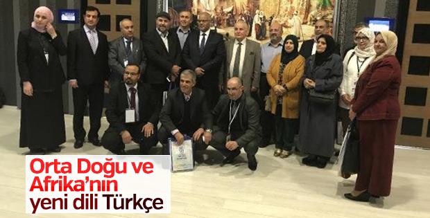 Cezayirli profesörden Türkçe dili vurgusu