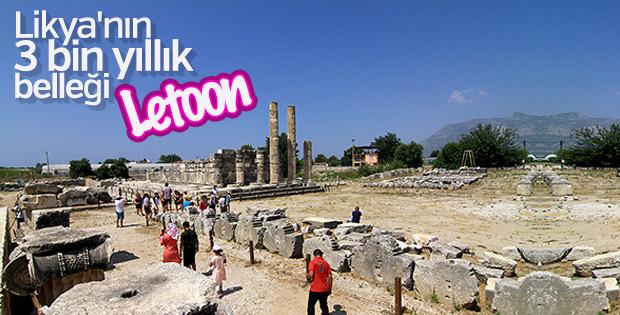3 bin yıllık tarihi birikimiyle Letoon Atik Kenti