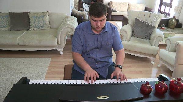 Otizmli müzik dehasına üniversite yolu açıldı