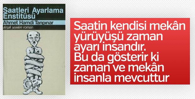 Ahmet Hamdi Tanpınar'ın klasiği: Saatleri Ayarlama Enstitüsü