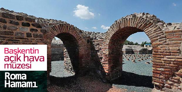 Roma Hamamı tarihe ışık tutuyor