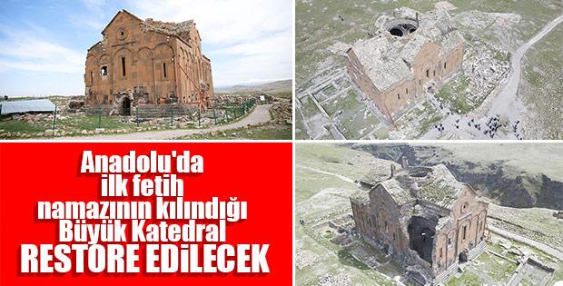 Büyük Katedral restore ediliyor
