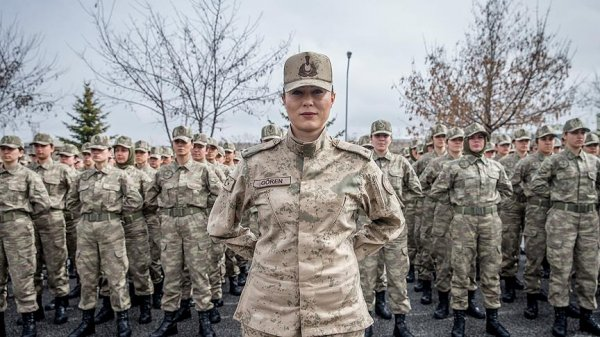 Kadın komutandan teröristlere gözdağı