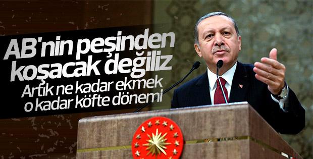 Cumhurbaşkanı Erdoğan Beştepe'de muhtarlarla buluştu