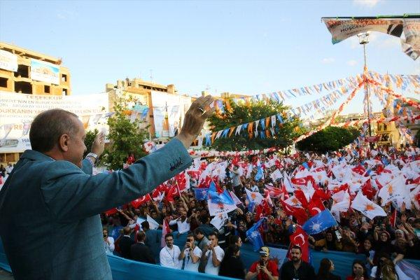 Erdoğan Aksaray'da