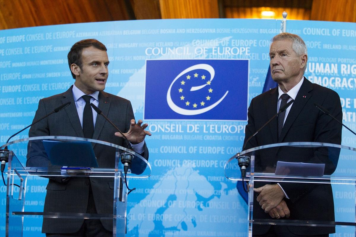 Macron: Herkesle konuşmalıyız
