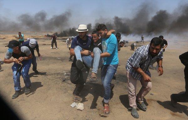 Gazze'de İsrail terörü devam ediyor