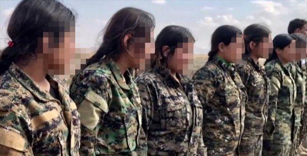 Afrin'de PKK çocukları silah altına alıyor