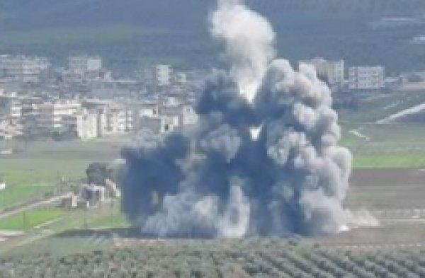 TSK'dan terör mevzilerine bombardıman