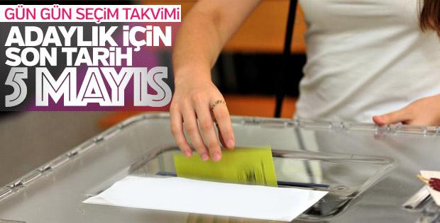 YSK 24 Haziran'da yapılacak CB ve 27. Dönem MV Genel Seçimi takvimini açıkladı