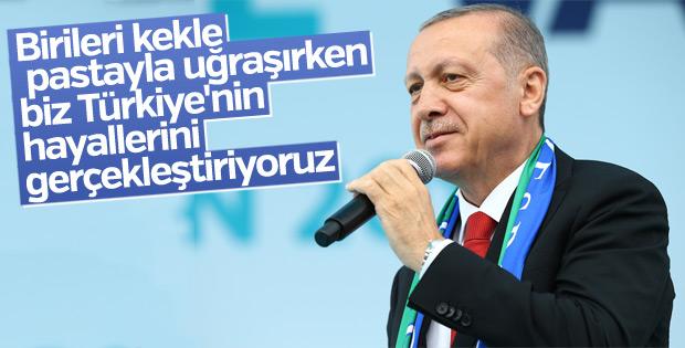 Erdoğan Rize'de konuştu