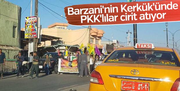 Kerkük'te PKK gösterisi