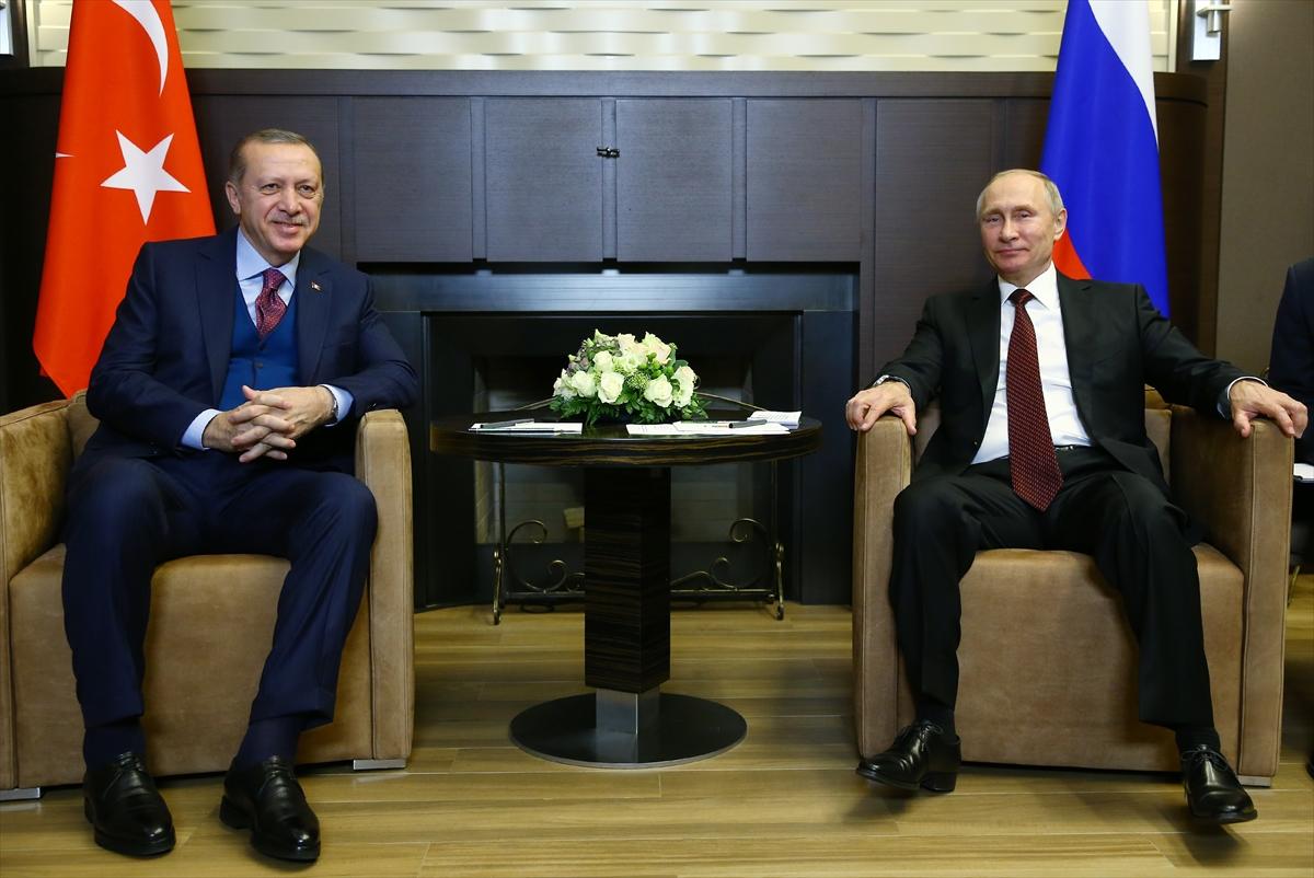 Erdoğan - Putin görüşmesi başladı