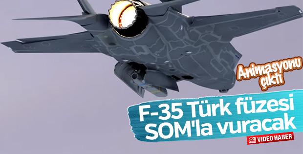 F-35'e yerli füze SOM-J takviyesi