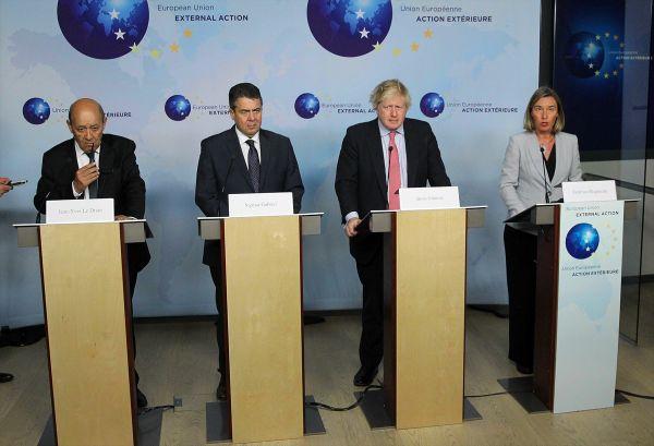 AB'den ABD'ye rest: İran'la anlaşmanın yanındayız