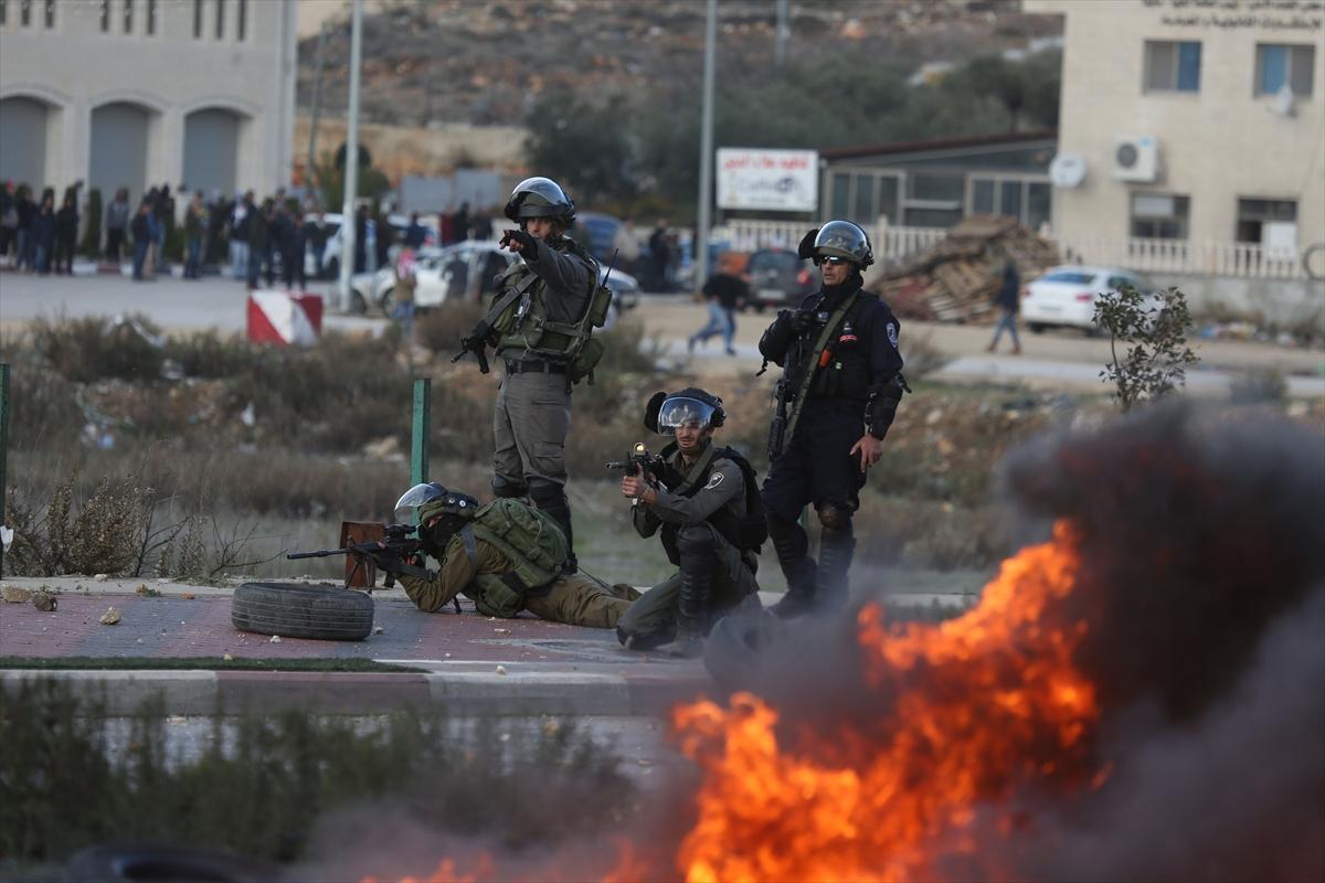 İsrail'den Filistinlilere sert müdahale