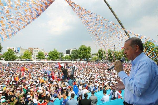 Erdoğan'dan İnce'ye prompter yanıtı