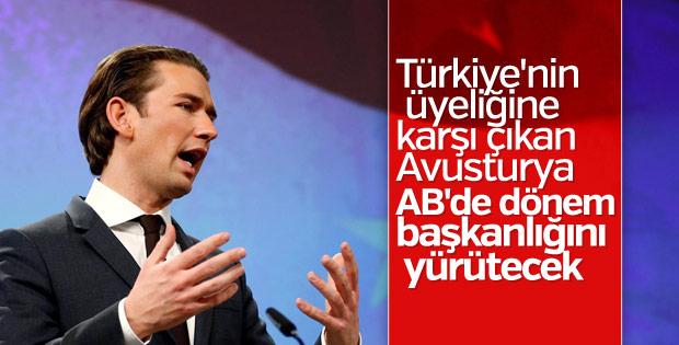 Avusturya, AB Konseyi Dönem Başkanlığını devraldı