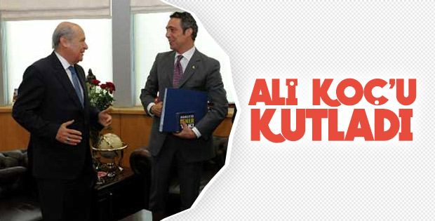 Bahçeli, Ali Koç'u tebrik etti