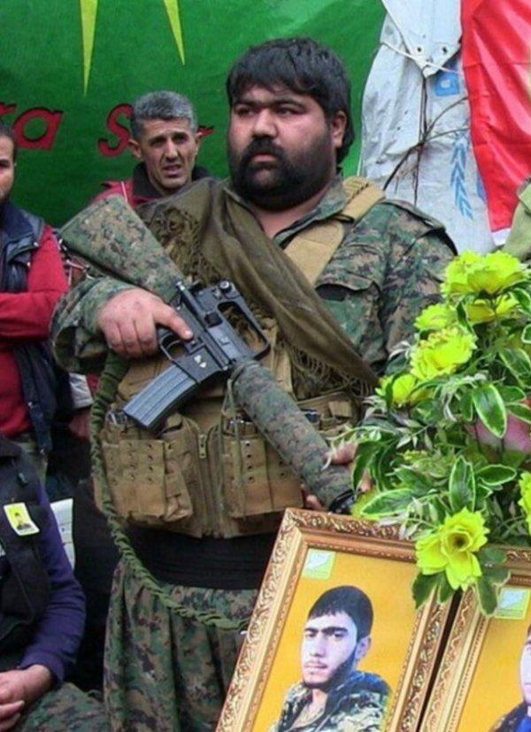 Afrin'de terörist cenazeleri bir bir kaldırılıyor