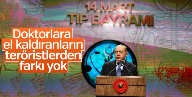 Cumhurbaşkanı Tıp Bayramı programında konuştu