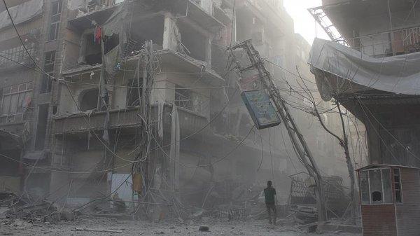 Esad rejimi Doğu Guta'da 38 sivili öldürdü