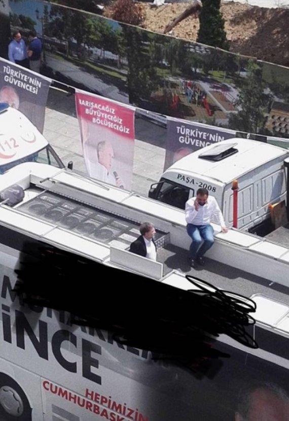 Ahmet Hakan, İnce'nin mitinginde