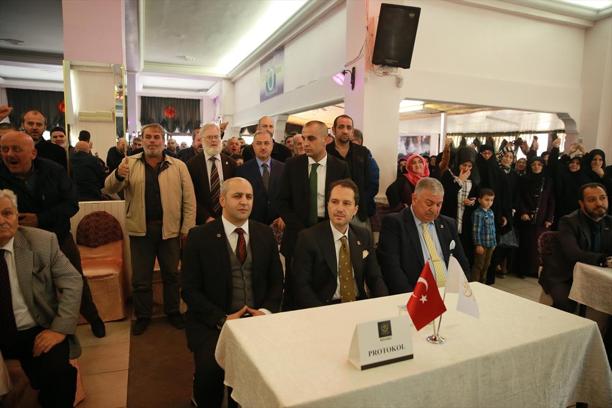 Fatih Erbakan: Yeniden kolları sıvayacağız