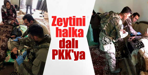 TSK'dan sivillere şefkat eli