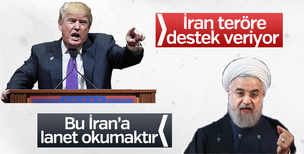 Trump: İran teröre destek veriyor