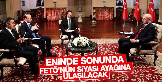 Numan Kurtulmuş TRT Haber'e konuştu