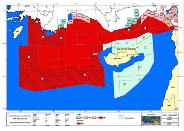 Türk Donanması, Akdeniz'de kalkan oluşturuyor